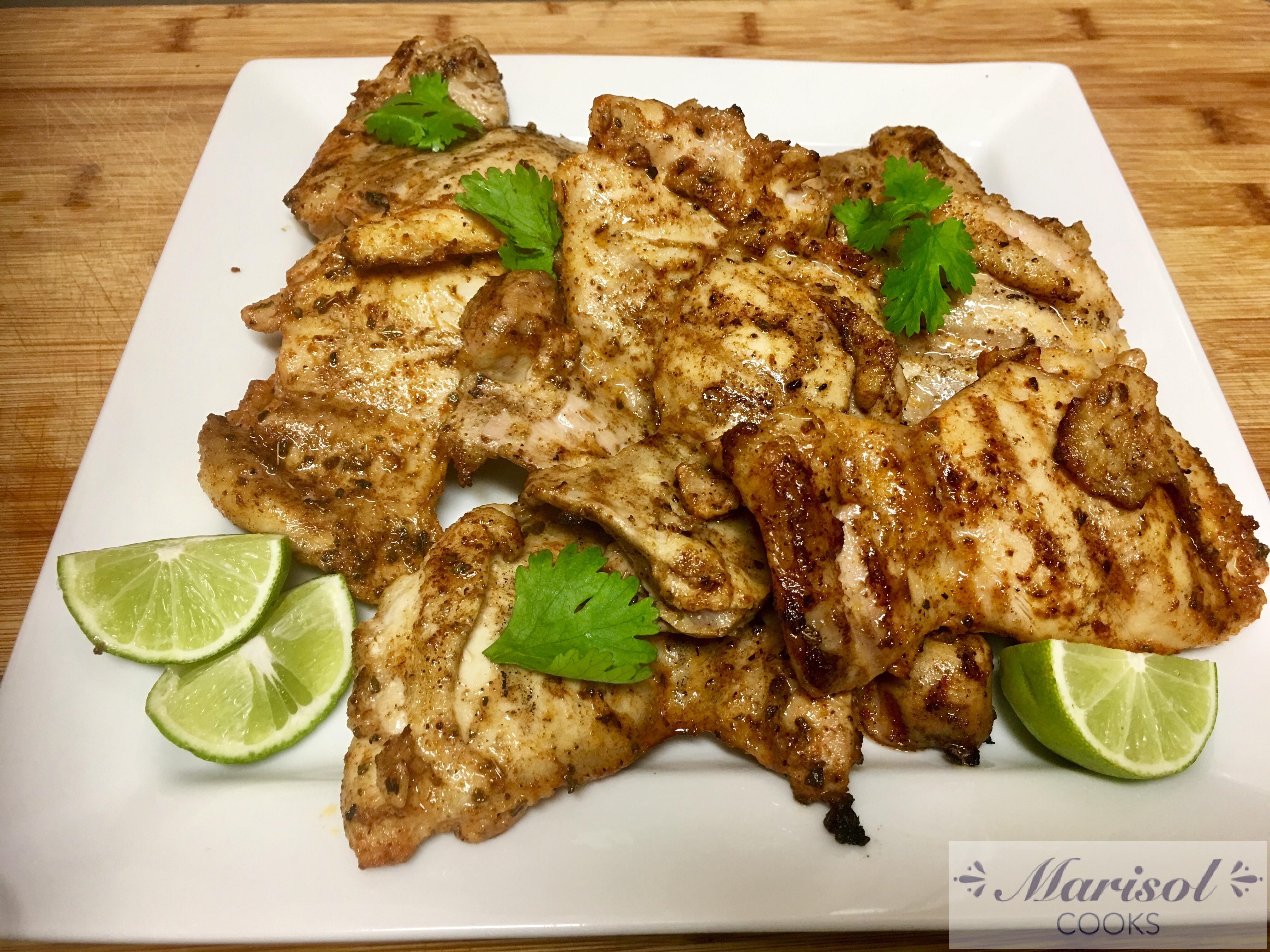 Pollo asado/Grilled chicken