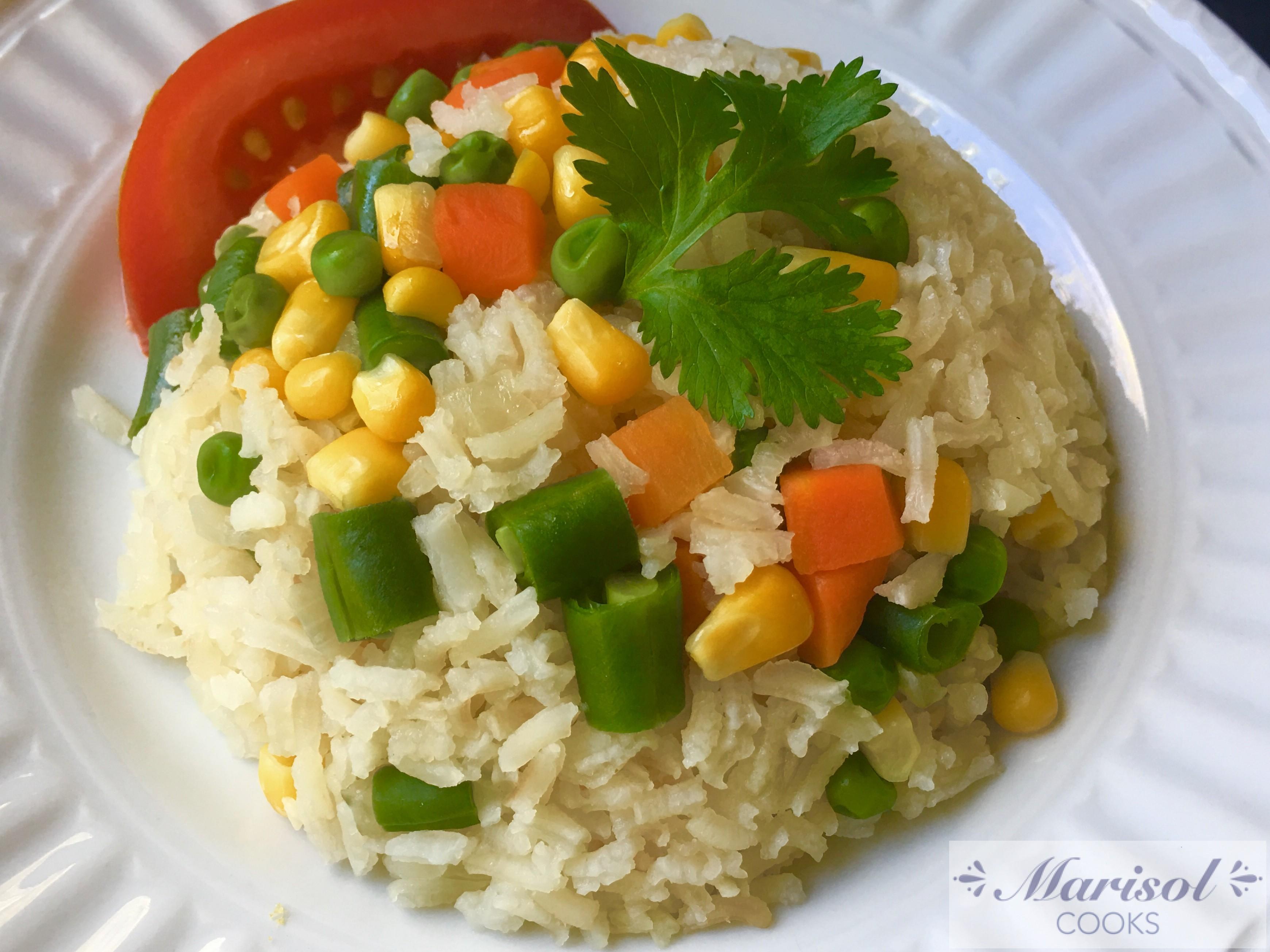 Arroz a la Jardinera/ Garden Rice