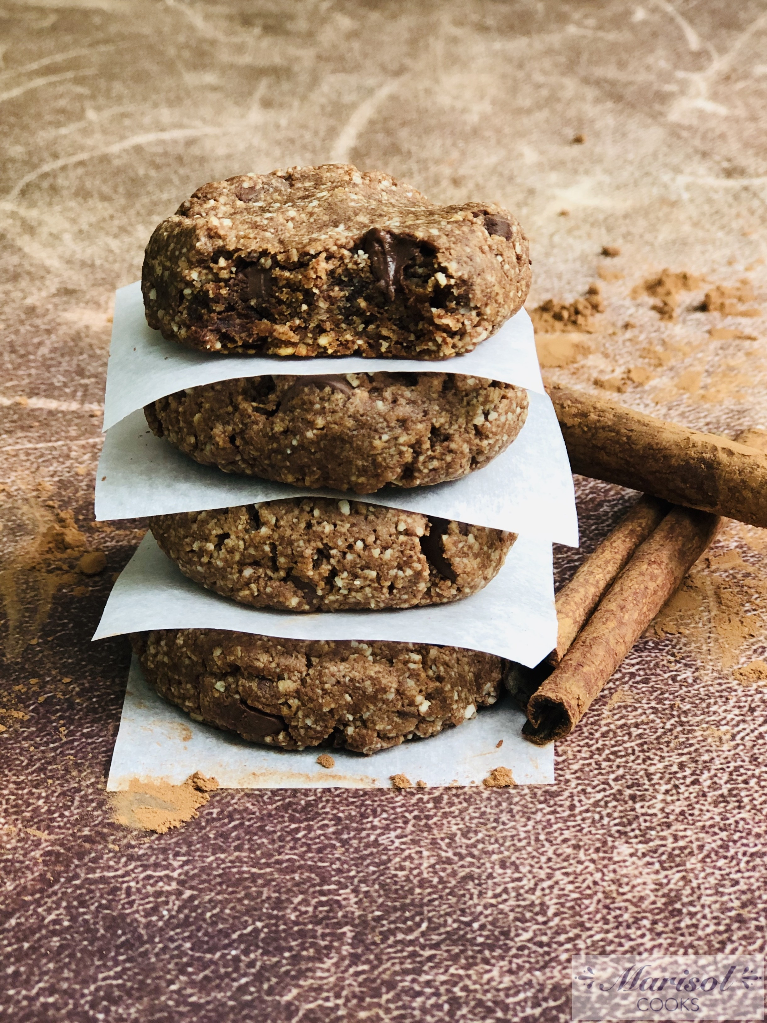 Mexican Chocolate cookies /Gluten Free