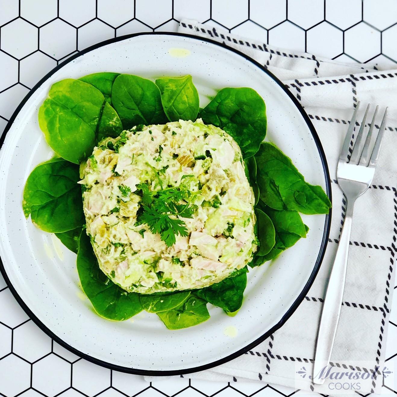 Green Tuna Salad