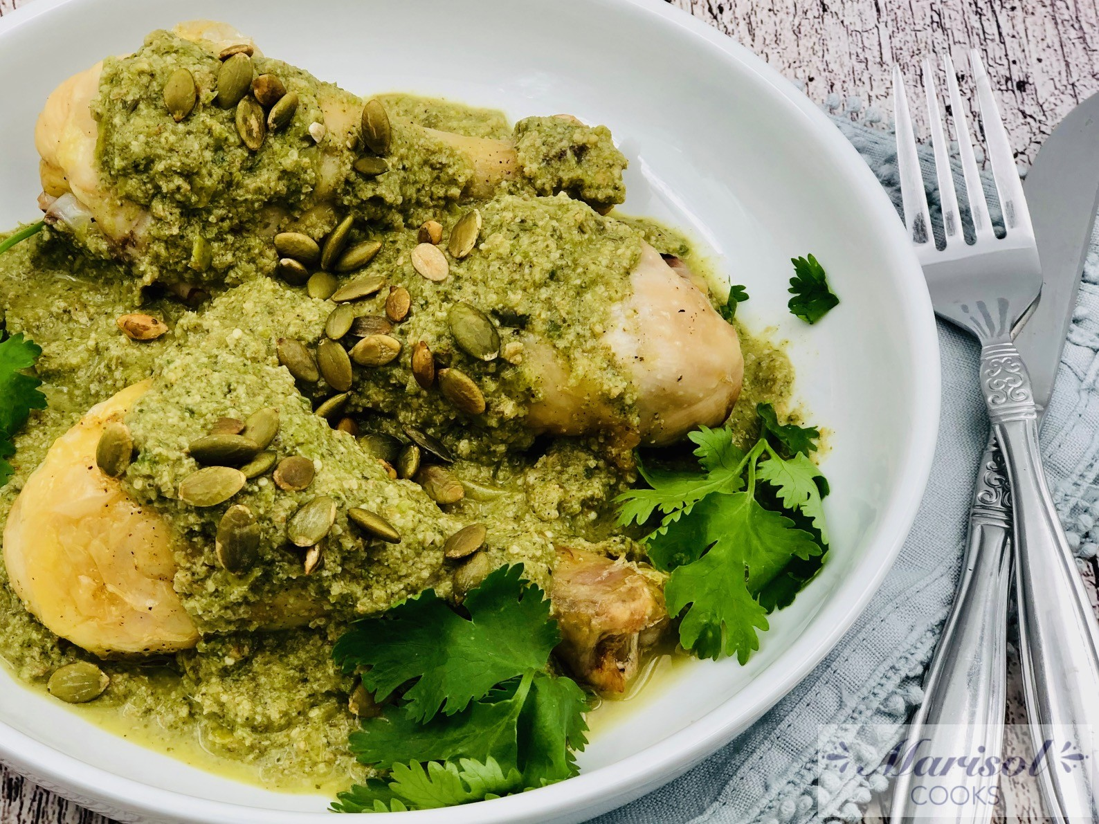 Pollo Pipian (Chicken Pipian)