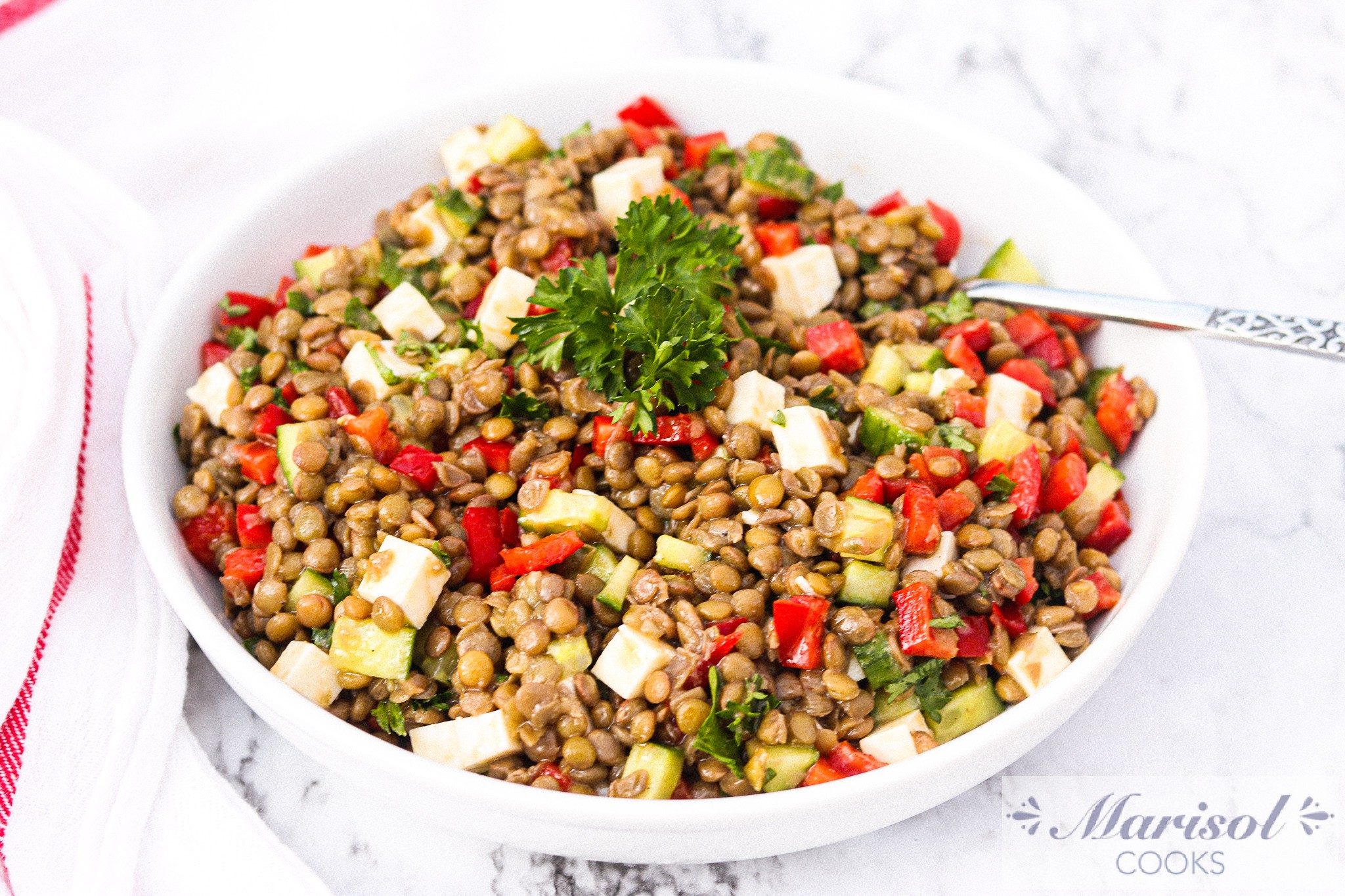 Lentil Salad with Balsamic Vinaigrette