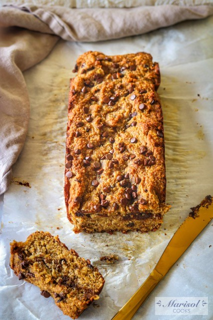 Banana Chocolate Chip Bread/Paleo