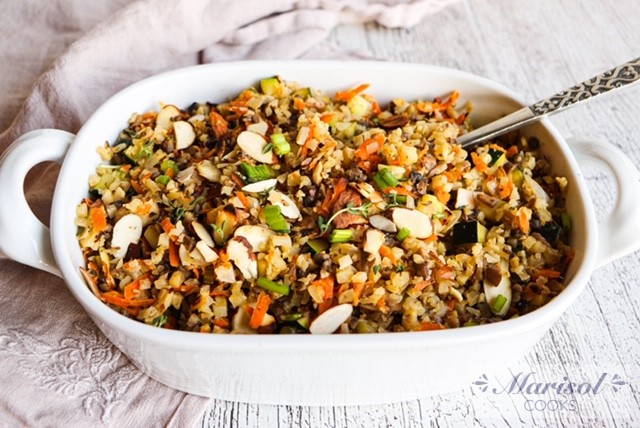 Cauliflower Wild Rice