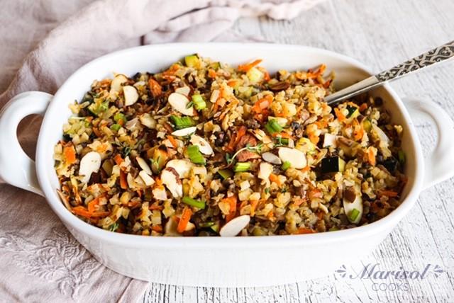 Cauliflower Wild Rice
