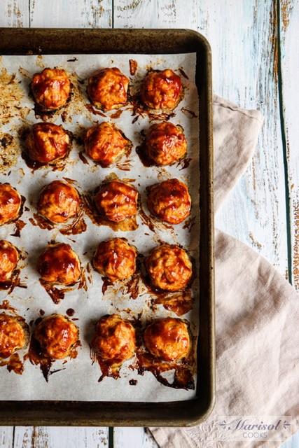 BBQ Turkey Meatballs