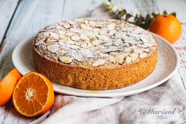Mandarin Almond Cake/Gluten Free Dairy Free