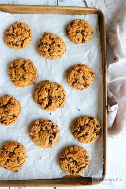 5 Ingredients Peanut Butter Cookies/ Gluten Free