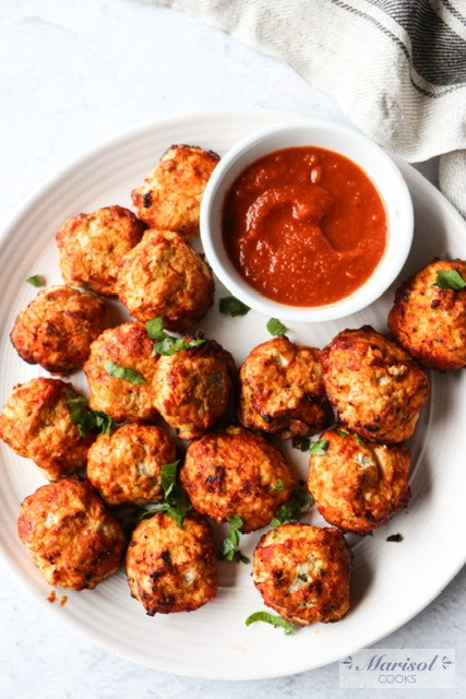 Turkey Meatballs/ Air Fryer