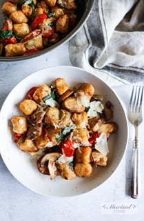 Air Fryer Cauliflower Gnocchi (Trader Joes)