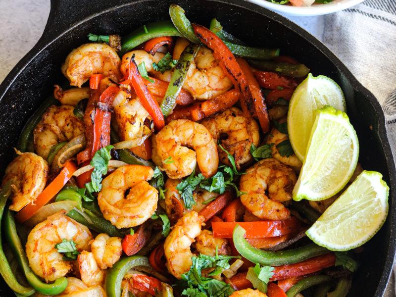 Shrimp Fajita Skillet