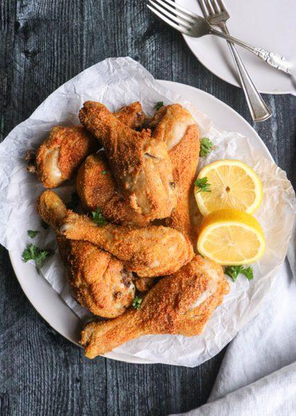 Air Fryer Crispy Chicken Drumsticks