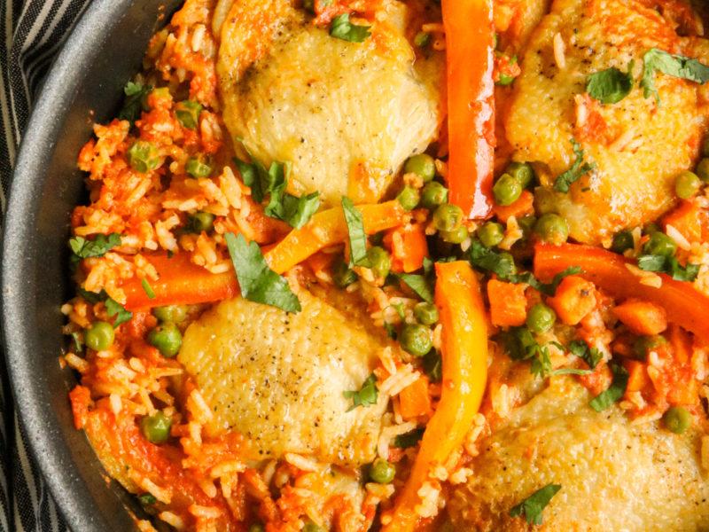 Arroz con Pollo/Chicken and Rice